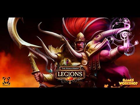 The Horus Heresy Legions закат Красного короля 1 часть