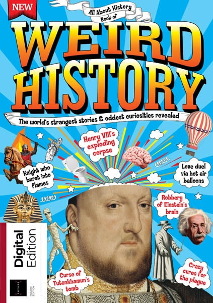 All About History Book of Weird History Ed4 2019