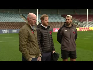 Duke of sussex gifted tiny rugby shirt for baby archie