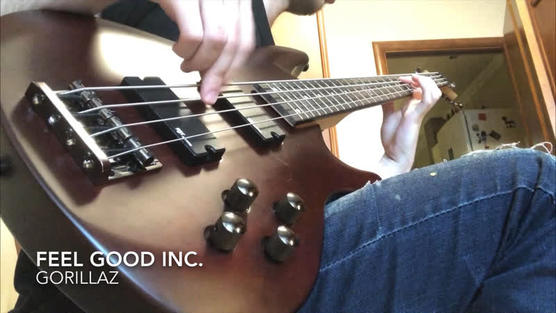 1 5 weeks of playing bass experience