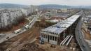 Строительство трёхуровневой развязки на 974 километре трассы М 5 Урал г Тольятти Samara region