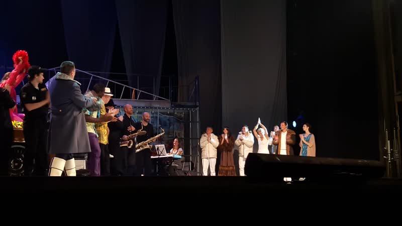 РАМТ. Спектакль Северная Одиссея. Поклоны (Петр Налич))