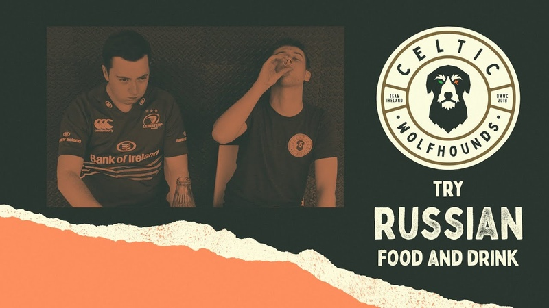Team Ireland Tries Russian Foods and Drinks! 🇮🇪 🇷🇺