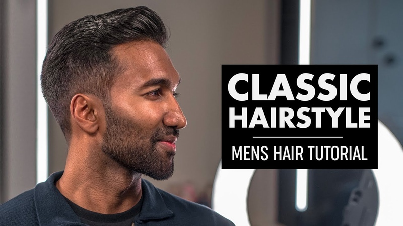 Classic Quiff Haircut for Men 2019