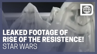 Leaked Footage from Rise of the Resistance Ride in Star Wars: Galaxy's Edge
