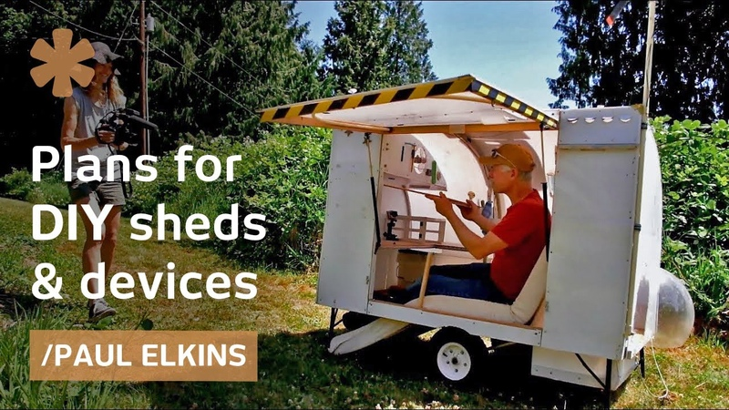Boeing retiree finds meaning inventing micro homes high speed trikes