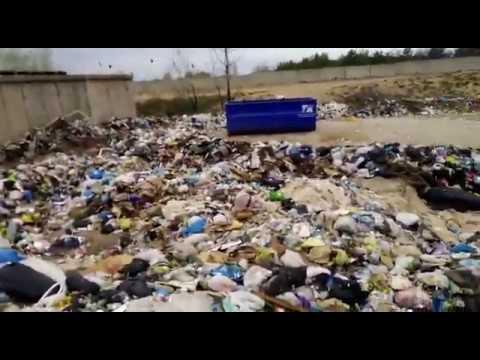 Перевалочная база мусора в Калачевском районе