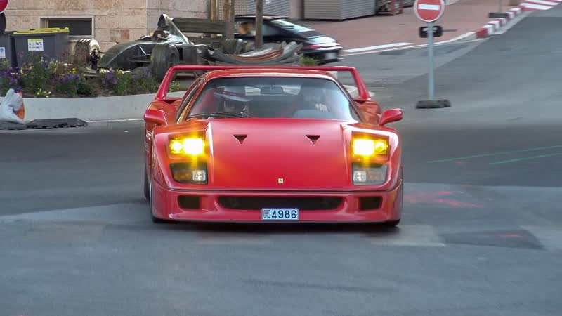 A Tribute to the Daily Driven Ferrari F40 with Tubi Exhaust