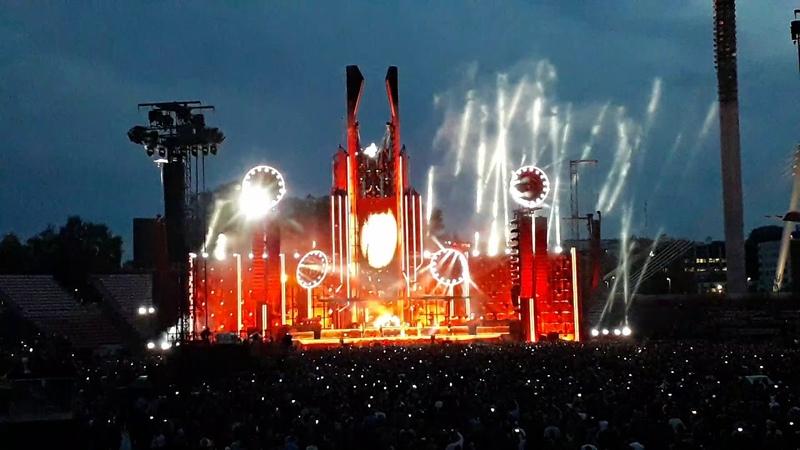 Rammstein Du riechst so gutPussy live @ Ratinan Stadion Tampere,Finland