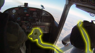 Friday Freakout: Skydiver's Reserve Pilot Chute Deployed In Plane With Door Open!