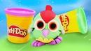 Hamur oyunları çocuklar için. Play-Doh oyun hamuru ile ağaçkakan