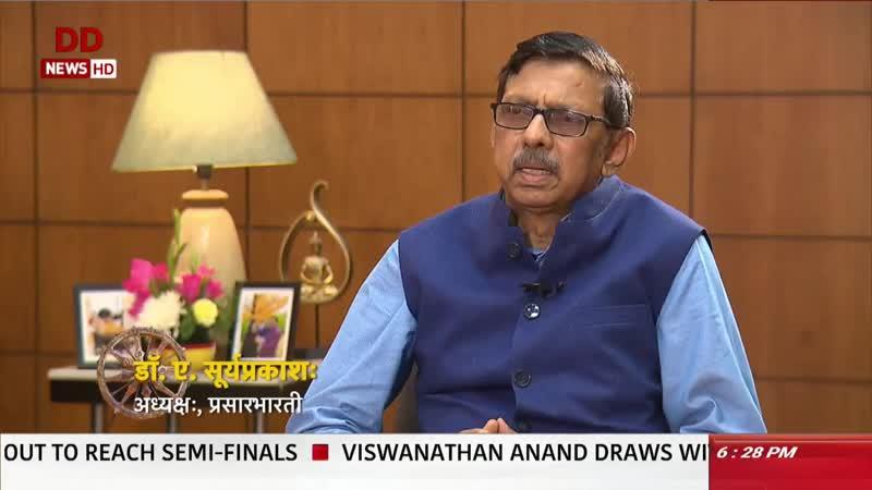 Pasar Bharati Chairman Surya Prakash says Sanskrit is mother of Indian language in 'Vaartavali'