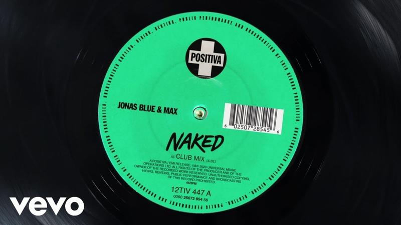 Jonas Blue MAX Naked Club Mix Visualiser