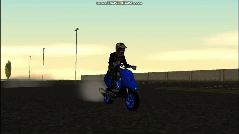 стант от FZM AEROX BWS TIP\MOTOCYCLE