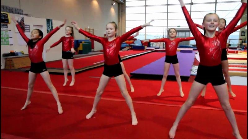 Warm Up 2019 Better When I'm Dancing Limerick Gymnastics Club Ireland