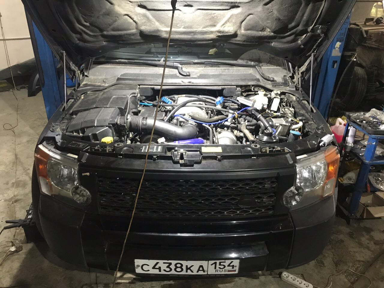 Land Rover Discovery 3, 3UZ свап мотора