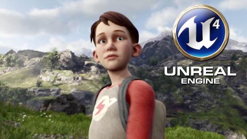 Unreal Engine 4 Kite Open World Tech Demo GTX Titan X @ 1080p HD ✔