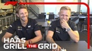 Haas Romain Grosjean and Kevin Magnussen! Grill The Grid 2019