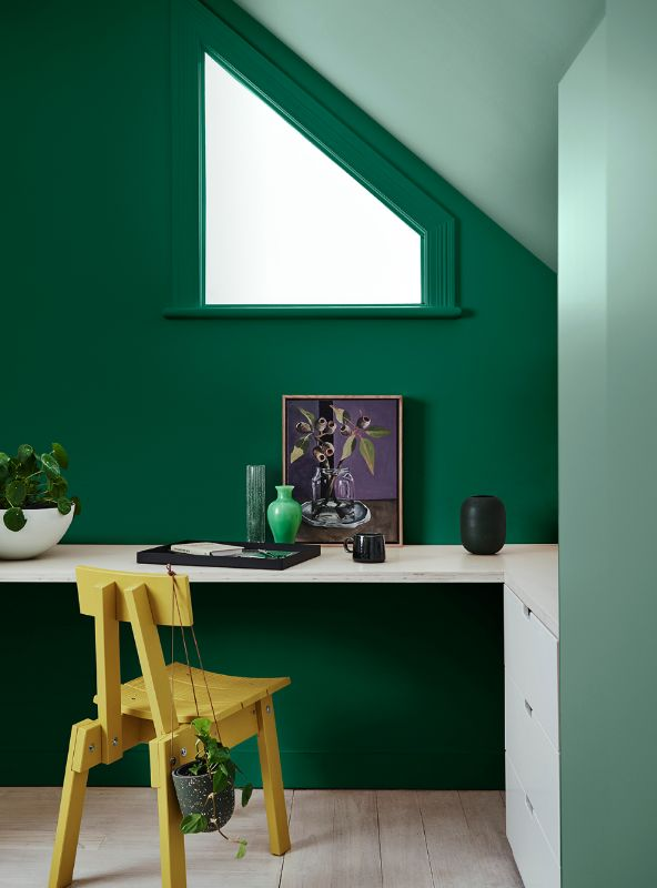 Вдохновение оттенками зелени от Dulux