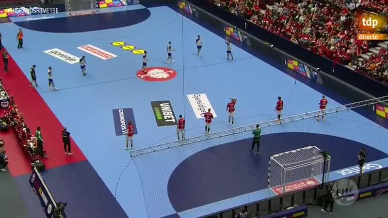 Campeonato de Europa Masculino Rusia Dinamarca