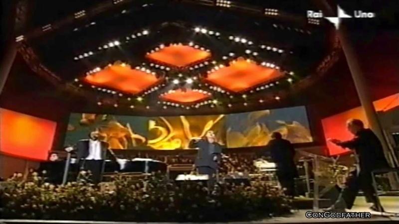 Miserere - Luciano Pavarotti Bono(U2) Zucchero (1080pHD)