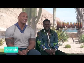 Kevin hart was jealous of dwayne johnson with devito: 'i've never seen him with another little man'