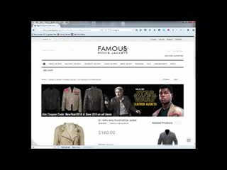 How to buy best celebrity leather jackets coats online store . famous movie jackets