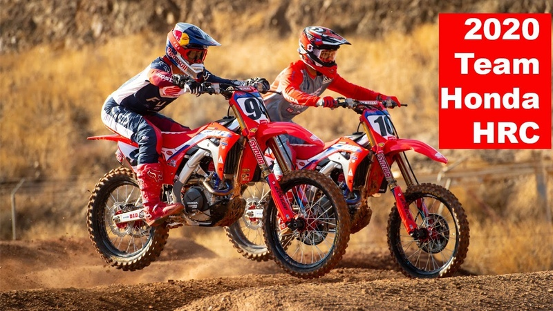 Team Honda HRC 2020 with Ken Roczen and Justin Brayton