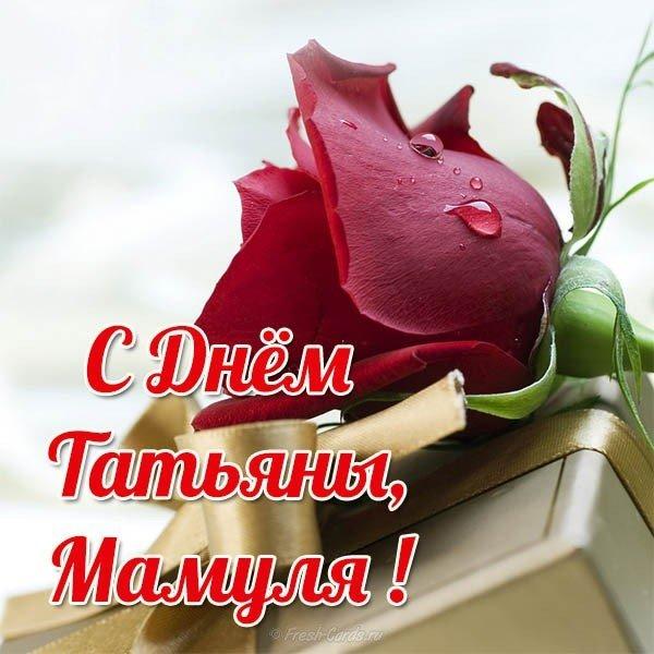 Поздравления на татьянин день для мамы