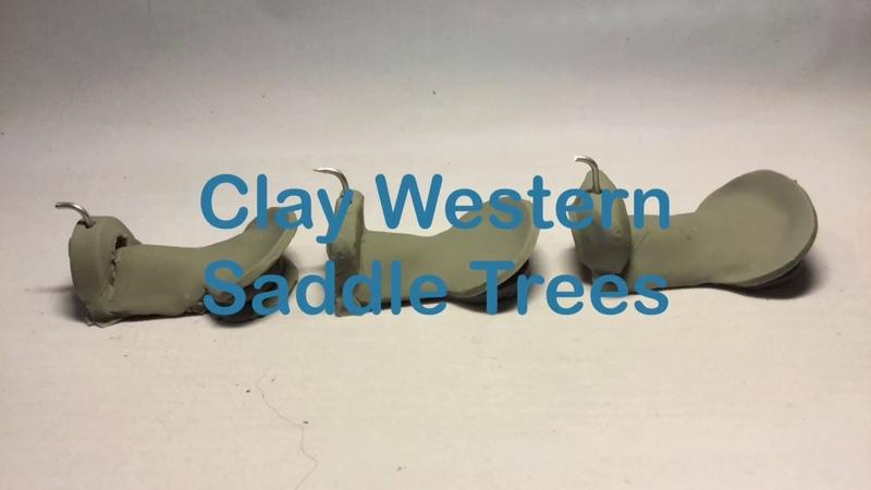 Заготовки вестер седел из полимерной глины