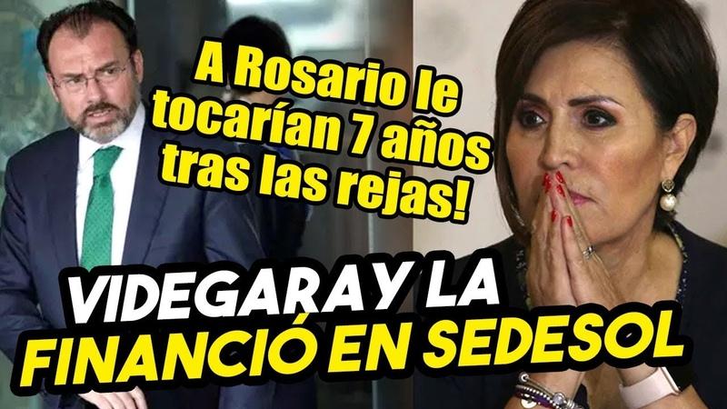 AVANZA AUDIENCIA FGR le carga 5 mil millones a Rosario y Videgaray en la mira por financiar todo