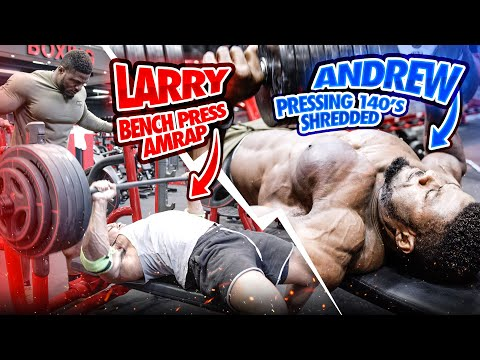 HEAVY BENCH PRESS AMRAP HEAVY DUMBBELLS AND PUSHUP SURFING