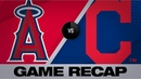Clevinger, Puig lead Indians to 7-3 win Angels-Indians Game Highlights 8/2/19