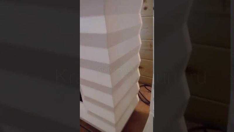 Видео обзор Портальный напольный биокамин Pinus kratki в магазине Биокамин.рф