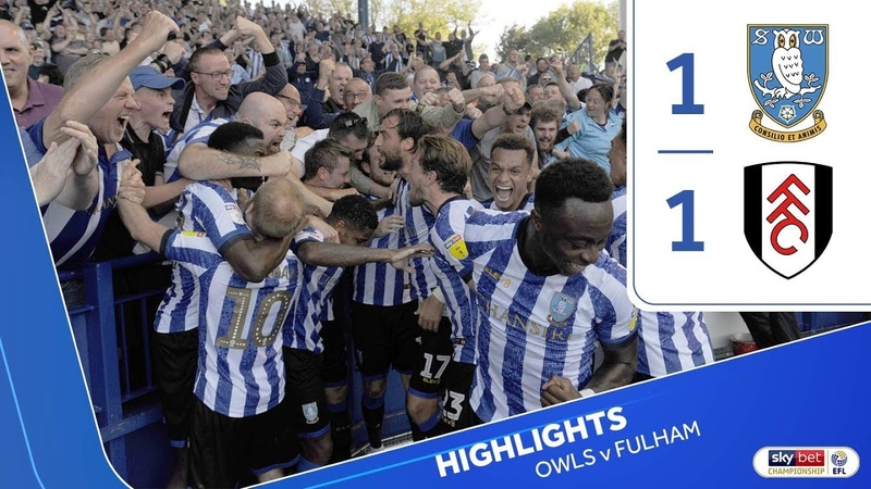 Sheffield Wednesday 1 Fulham 1 Extended highlights 2019 20