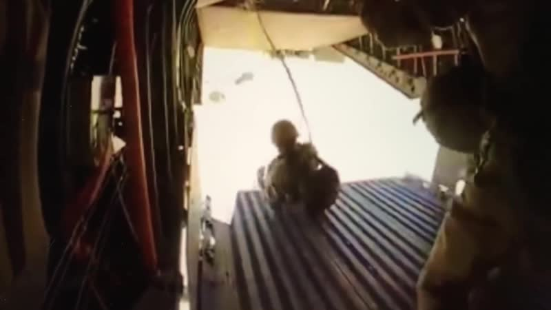 Поскользнулся и выпал: нелепое десантирование африканских парашютистов. African Jump Errors Exercise Flintlock 19, 2019.
