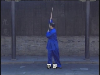 Mao Ming Bian Gun Whip Staff Basics Tutorial 毛明春 鞭杆 基本鞭法