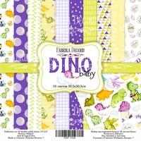 Набор скрапбумаги Dino baby 30,5x30,5 см 10 листов 358 р В наличии 1 шт.
