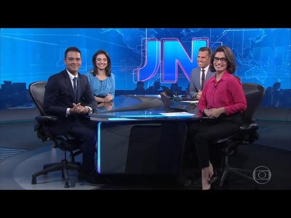 [HD] JN 50 anos: Apresentação de Ana Lídia Daibes e Phelipe Lemos ao Jornal Nacional - 20/09/2019.