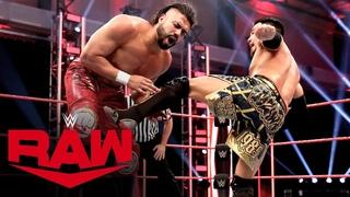 #My1 Akira Tozawa vs. Andrade: Raw, April 20, 2020