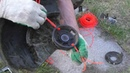 Лайфхак с применением лески в катушке триммера