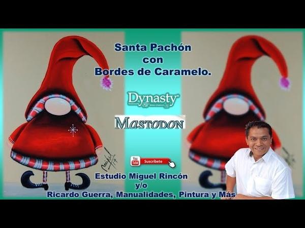 Santa Claus para Decorar Cualquier Superficie en Manualidades y Pintura decorativa con Miguel Rincón