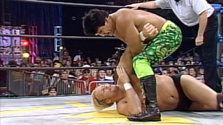 [My1] A young Steve Austin defends his title against Ricky Steamboat in Hidden Gem