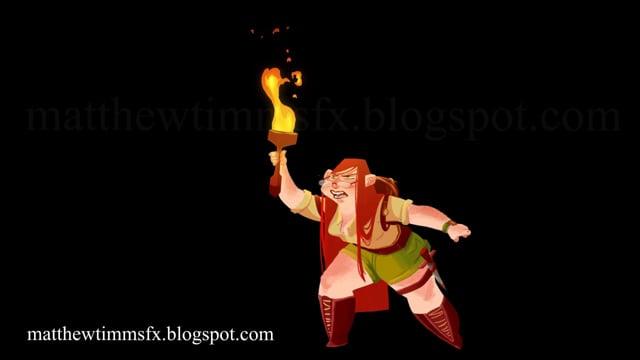 Bitey 2D FX Torch