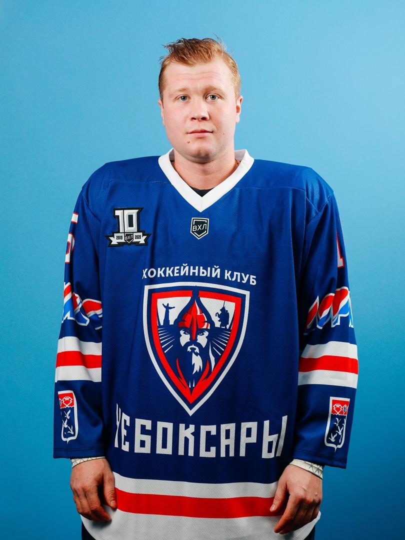 Андрей Бадрутдинов ХК Чебоксары