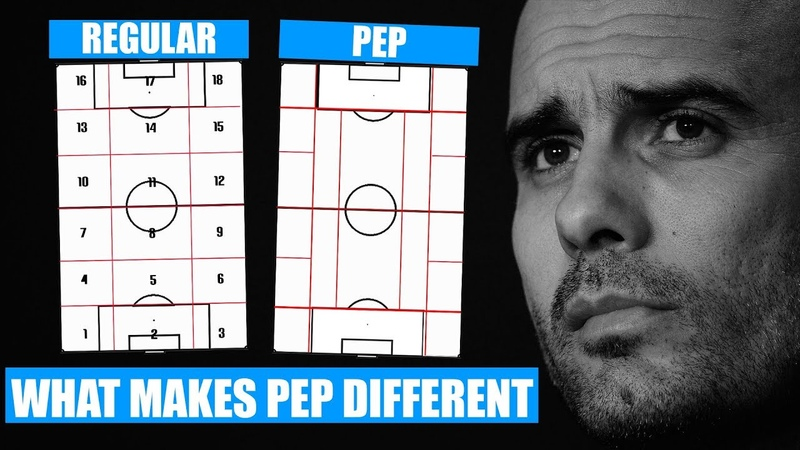 How Pep Sees Football Differently What Separates Pep Guardiola Pep Guardiola's 20 Zone System