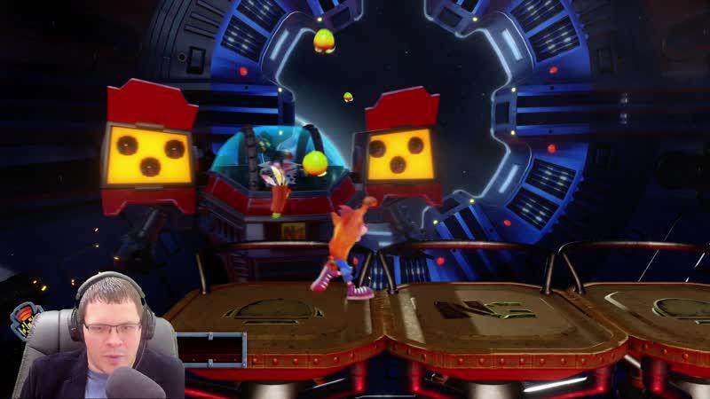 Прохождение Crash Bandicoot 2: Cortex Strikes Back Боссы!