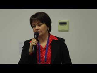 Выступление Любови Совершаевой на панельной дискуссии Будущее города. Люди в новой городской среде