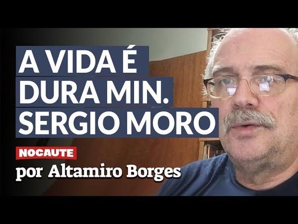 "ALTAMIRO BORGES MORO ESTÁ VIRANDO BAGAÇO NO LARANJAL DE BOLSONARO"""