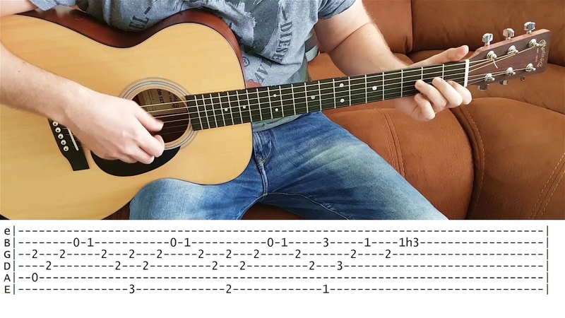 While My Guitar Gently Weeps - Fingerstyle Guitar With TABS